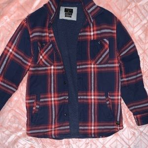 Quicksilver flannel jacket